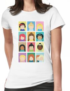 Princess Inspired Womens Fitted T-Shirt