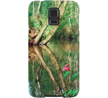 Lonely flower guarding the stream | landscape photography Samsung Galaxy Case/Skin