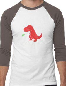 I Am Unstoppable Funny T-Rex Dinosaur Men's Baseball ¾ T-Shirt
