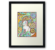 Spiraled Out of Control Framed Print