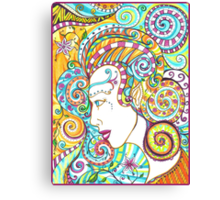 Spiraled Out of Control Canvas Print