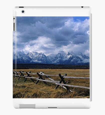 Across Cunningham Historic Site iPad Case/Skin
