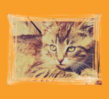 Retro Kitten Photo 2 T-Shirt