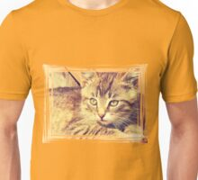 Retro Kitten Photo 2 Unisex T-Shirt