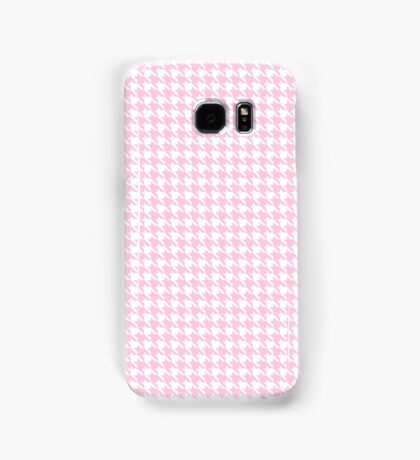 Pink Houndstooth Abstract Samsung Galaxy Case/Skin