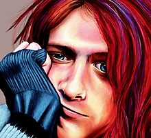 Kurt Cobain by SRowe Art