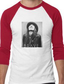 Brave Men's Baseball ¾ T-Shirt