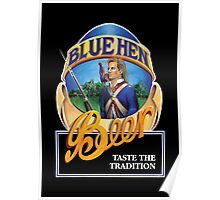 Blue Hen Beer Poster