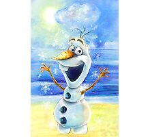Olaf Frozen Photographic Print