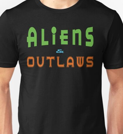 Aliens & Outlaws T-Shirt