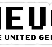 THEUGZ - The United Geekz Sticker