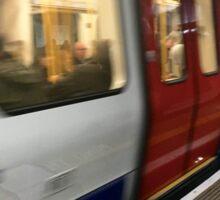 Underground Train Sticker