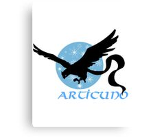 Pokemon Articuno Design Canvas Print