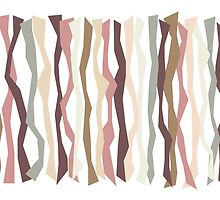 Pink and Brown Color Sticks by Patricia Lintner