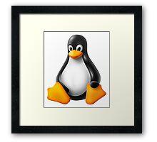 Linux Penguin – Tux Framed Print