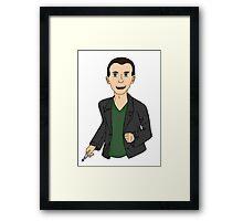 Ninth Doctor  Framed Print