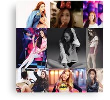 JESSICA JUNG COLLAGE Canvas Print