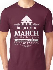 Million Women's March on Washington 2017 Redbubble T-Shirts Unisex T-Shirt