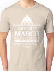 Million Women's March on Washington 2017 Redbubble T-Shirts Unisex T-Shirt
