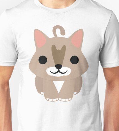 Maine Coon Cat Emoji Happy Smiling Face Unisex T-Shirt