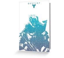 Destiny Titan Greeting Card