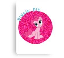 PinkiePieGlitter Canvas Print