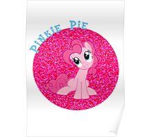 PinkiePieGlitter Poster