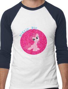PinkiePieGlitter Men's Baseball ¾ T-Shirt