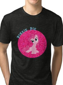 PinkiePieGlitter Tri-blend T-Shirt