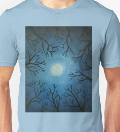 """A blue moon again"" Unisex T-Shirt"
