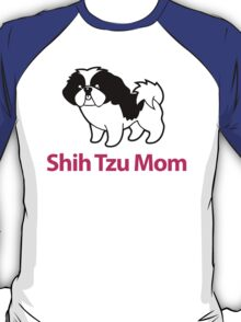 Cute Shih Tzu Mom Cartoon Shih Tzu T-Shirt T-Shirt