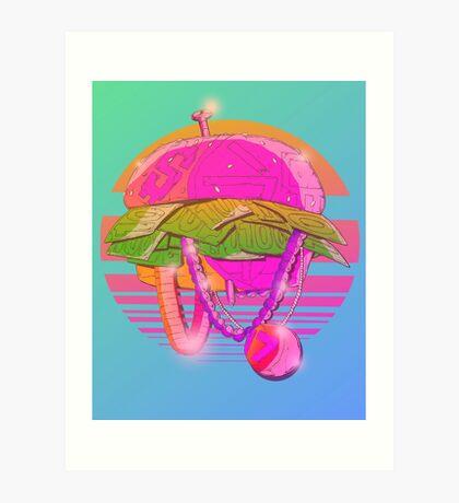 VICE BURGER Art Print