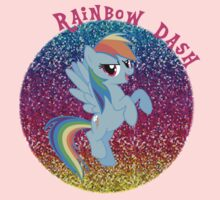 RainbowDashGlitter Kids Clothes