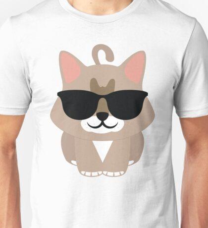 Maine Coon Cat Emoji Cool Fantastic Sunglasses Look Unisex T-Shirt