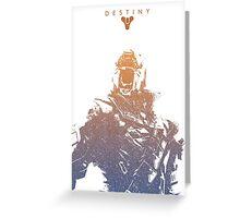 Destiny Warlock Greeting Card