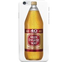 Old English 40z iPhone Case/Skin