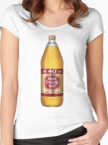 Old English 40z Women's Fitted Scoop T-Shirt