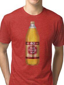 Old English 40z Tri-blend T-Shirt