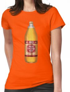 Old English 40z Womens Fitted T-Shirt