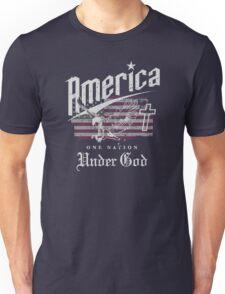 America One Nation Under God Unisex T-Shirt