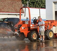 Hosing the Ditch Witch by MoreKeala