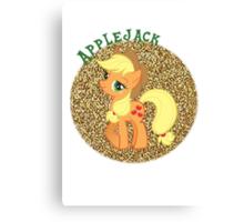AppleJackGlitter Canvas Print