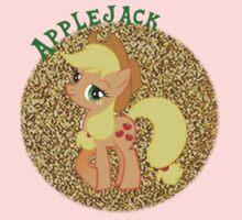 AppleJackGlitter Kids Tee