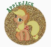AppleJackGlitter Kids Tee
