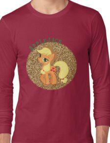 AppleJackGlitter Long Sleeve T-Shirt