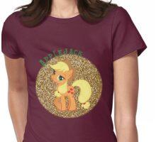 AppleJackGlitter Womens Fitted T-Shirt
