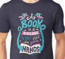 Book is a dream Unisex T-Shirt