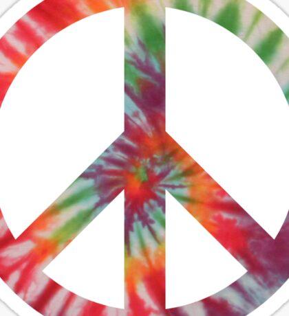 Peaceful Hippy Sticker