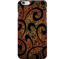 Abstract Molecules  iPhone Case/Skin