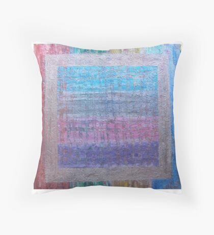 Hyrogliphyics by Allan Maticic Art Throw Pillow